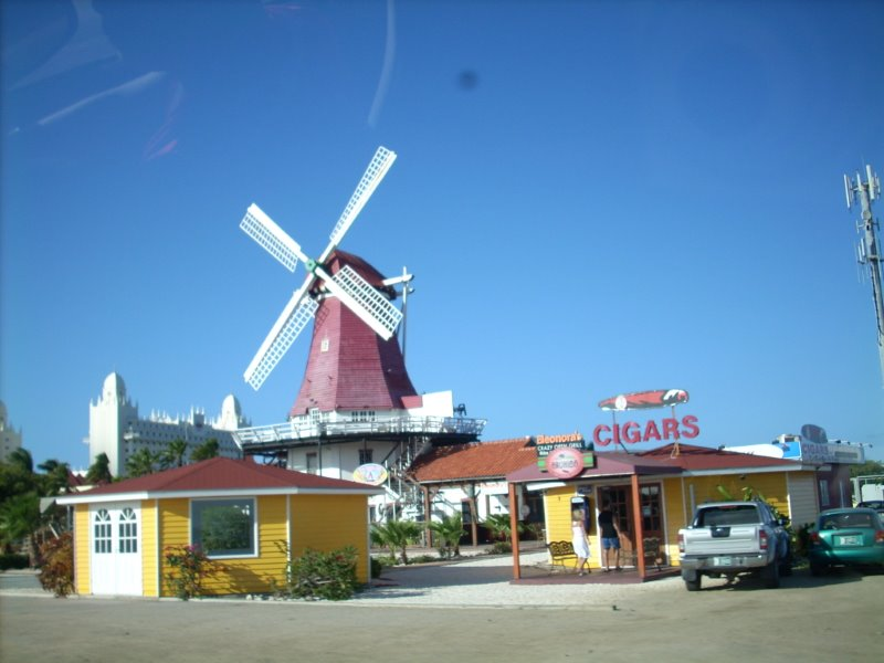 Aruba, influence européenne